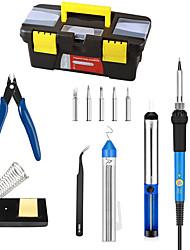 Недорогие -электрический утюг набор инструментов для ремонта компьютера мобильного телефона домашнего офиса портативный электрический паяльник