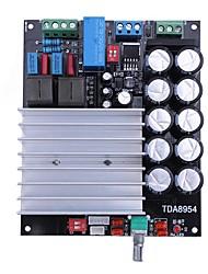 Недорогие -tda8954 стерео 210 Вт + 210 Вт 2.0 2-канальный класс d цифровой усилитель Hi-Fi плата