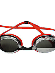 Недорогие -плавательные очки Водонепроницаемость Противо-туманное покрытие Защита от солнца Others Эко PC UV Неприменимо Серебро