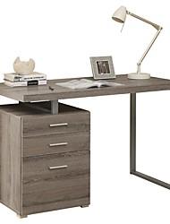 Недорогие -современный домашний офис ноутбук компьютерный стол в темно-темно-коричневой отделке дерева