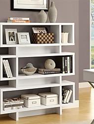 Недорогие -белый современный книжный шкаф для книжного шкафа для гостиной или офиса