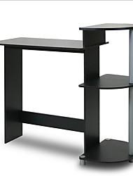 Недорогие -современный компьютерный стол в черной и серой отделке