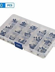 Недорогие -15 valuesx20 300шт электронный набор транзисторов к-92 ассорти комплект коробки
