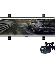 Недорогие -V700 1080p HD Автомобильный видеорегистратор 170° Широкий угол КМОП-структура 10 дюймовый IPS Капюшон с Ночное видение / G-Sensor / Режим парковки Автомобильный рекордер