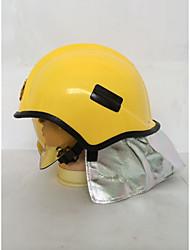 Недорогие -специальный материал алюминиевая фольга шлем противопожарная защита антибликовый защитный шлем страхование труда шлем