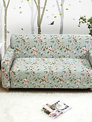 cheap -Sofa Cover High Stretch Rose Printed Soft Elastic Polyester Slipcovers