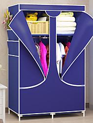 abordables -la mode non-tissé placard tissu penderie pliant armoire en tissu grand stockage tissu penderie placard chambre meubles