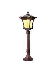 Недорогие -QINGMING® 1шт 3 W Свет газонные Водонепроницаемый / Работает от солнечной энергии / Управление освещением Тёплый белый / Холодный белый 3.7 V Уличное освещение / двор / Сад 1 Светодиодные бусины