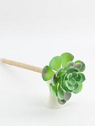 Недорогие -новый шпагат / пластик имитирующих мясистые растения цветущие белый лотос синий карандаш свинца шариковая ручка с ручным заводом ремесла подарки для офиса&усилитель; школьные принадлежности