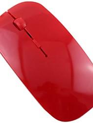 Недорогие -1200 точек / дюйм USB оптическая беспроводная компьютерная мышь 2.4 г приемник супер тонкая мышь для ноутбука ПК