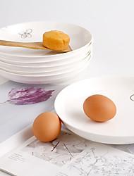 levne -Jednodílný Talíře mělké Servírovací nádoby stolní nádobí Porcelán Roztomilý kreativita