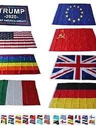 Недорогие -Праздничные украшения Международный фестиваль / Спортивные мероприятия Государственный флаг Для вечеринок Ukraine / Австрия / Турция 1шт