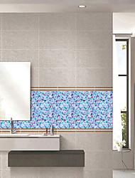 abordables -Autocollants muraux autocollants étanches imperméables à l'eau de couleur de mode de modèle de pvc - autocollants de mur d'avion transport / bureau d'étude de paysage / bureau / salle à manger /
