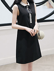 halpa -naisten yläpuolella polvi pieni musta mekko peter pan kaulus musta m l xl xxl