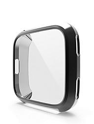 Недорогие -Ультратонкий мягкий чехол ТПУ чехол для fitbit наоборот полная защита силиконовые чехлы носимых устройств SmartWatch Protector