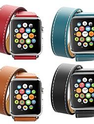 Недорогие -Hermes двухполосный ремешок для Apple Watch серии Smart Watch серии 4/3/2/1 ремешок на запястье