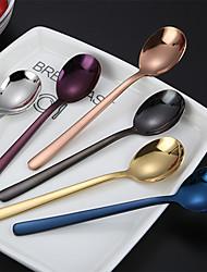 Недорогие -посуда 1 комплект новый дизайн экологически чистой нержавеющей стали десертная ложка обеденная вилка 2 шт.