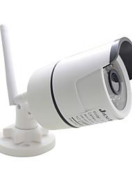 abordables -jienuo jn-ip618ar-d-wifi caméra ip wifi audio bidirectionnel caméra bullet 1080p 2mp cctv sécurité sans fil extérieur étanche hd surveillance infrarouge haut-parleur