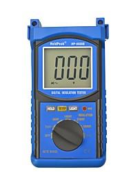 Недорогие -Holdpeak hp-6688b высокое качество цифровой 5000 В 1999 автоматический тестер сопротивления изоляции диапазона изоляции изолированный портативный тестер хранения данных