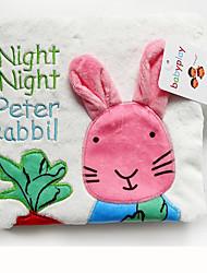 Недорогие -Rabbit Креатив Мягкие и плюшевые игрушки Очаровательный Милый / Игрушки Подарок 1 pcs