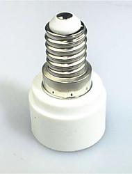 cheap -1pc E14 to E14 E14 100-240 V Converter Plastic Light Bulb Socket