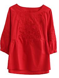 olcso -Női Póló - Egyszínű Lóhere L