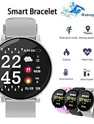 Недорогие -W8S Smart Watch BT Поддержка фитнес-трекер уведомлять / пульсометр спортивные умные часы, совместимые с телефонами Samsung / Iphone / Android