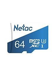 Недорогие -Netac Micro SD Card 64 ГБ 128 ГБ 256 ГБ класса 10 UHS 1 U3 V30 карта памяти 64 128 ГБ флэш-памяти MicroSD P500 Pro TF карта для смартфона