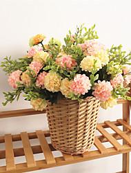 preiswerte -Künstliche Blumen 1 Ast Klassisch Europäisch Pastoralen Stil Hortensie Ewige Blumen Tisch-Blumen