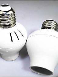 preiswerte -1pc E14 auf E27 E14 90-250 V Infrarot-Sensor Kunststoff Glühbirnenfassung