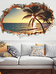Недорогие -творческий пляж кокосовых пальм стены стикеры - слова&ампер цитаты стикеры на стенах персонажей кабинет / кабинет / столовая / кухня