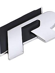 お買い得  -ブラック / レッド 車ステッカー フルカーステッカー テキスト / 数値 3Dステッカー