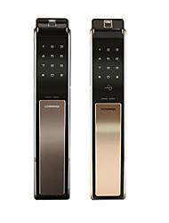 Недорогие -Commax замок отпечатков пальцев умный замок домашней безопасности дверь электронный замок пароль замок дверной замок 811p