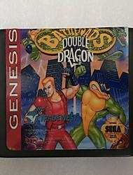 Недорогие -16-битный игровой картридж sega md для мегаприводной системы генезиса с Battletoads&усилитель; двойной дракон