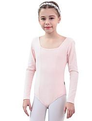 Χαμηλού Κόστους -Παιδικά Ρούχα Χορού / Μπαλέτο Φορμάκια Κοριτσίστικα Εκπαίδευση Βαμβάκι Διαφορετικά Υφάσματα Μακρυμάνικο Φορμάκι / Ολόσωμη φόρμα