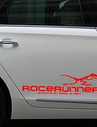 Недорогие -1 пара 3d динозавр тотем украшения светоотражающие наклейки наклейки на автомобиль стайлинга