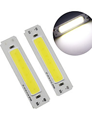 Недорогие -60 * 15 мм светодиодные 5 В чип початка 2 Вт початка светодиодные ленты источник света бар лампы DIY USB настольная лампа светодиодные панели 5 В