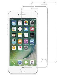 Недорогие -Защитная пленка для экрана Apple iPhone 5 / iPhone 5/5 / закаленное стекло 2 шт. Защитная пленка для экрана высокого разрешения (HD), жесткость 9 часов, изогнутый край 2,5 дюйма
