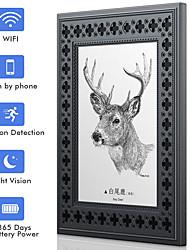 Недорогие -sdeter wifi фоторамка скрытая шпионская камера HD 720p аккумуляторная батарея камеры с ночным видением обнаружения движения для безопасности домашнего офиса