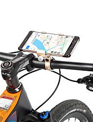 Недорогие -Крепление для телефона на велосипед Регулируется Противозаносный Anti-Shake для Шоссейный велосипед Горный велосипед Aluminum Alloy Велоспорт Синий Серый Светло-коричневый