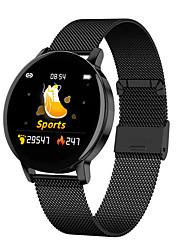 Недорогие -R5 Smart Watch Bluetooth Круглый экран Фитнес-трекер Поддержка уведомлений / пульсометр спортивные SmartWatch совместимы с телефонами Iphone / Samsung / Android