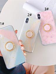 Недорогие -чехол для яблока iphone xr / iphone xs max блестящий блеск / узор задняя крышка мрамор мягкий тпу foriphone x xs 8 8plus 7 7plus 6 6plus 6s 6s plus