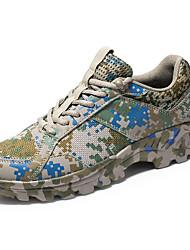 זול -בגדי ריקוד גברים נעלי טיולי הרים קל משקל נושם נגד החלקה תומך זיעה נוח צעידה הדרכה פעילה נסיעות הליכה ריצה
