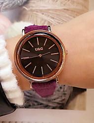 Недорогие -Жен. Нарядные часы Японский кварц Кожа Защита от влаги Аналоговый Классика - Красный Зеленый Синий / Нержавеющая сталь