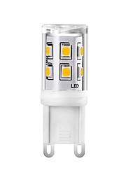 Недорогие -1 шт мини 2 Вт g9 светодиодные кукурузные фонари 220 В 240 В керамические 15 светодиодов smd 2835 заменить 25 Вт галогеновый светлый белый теплый белый для хрустальной люстры