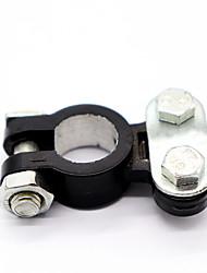 Недорогие -Влагостойкий автомобильный аккумулятор клемма алюминиевый магний положительный&усилитель; негативные клипы