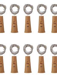 Недорогие -10 шт. Три кнопки функции бутылки 20 строка лампы 2 м вино привело строка света пробка в форме бутылки вина пробка свет лампы рождественская вечеринка украшения бутылка пробка свет