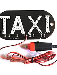 Недорогие -Uber светодиод мигающий автомобиль свечение стикер цикла белый свет знак наклейка на окне с интеллектуальной индукции