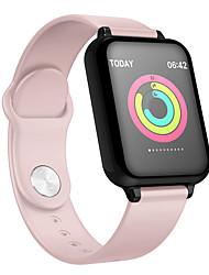 Недорогие -B57 Smart Watch Bluetooth Поддержка фитнес-трекер уведомить / пульсометр спортивные SmartWatch совместимы с Apple / Samsung / Android телефонов