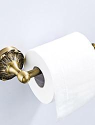 Недорогие -Держатель для туалетной бумаги Новый дизайн Античный / Деревенский Латунь 1шт - Ванная комната / Гостиничная ванна На стену